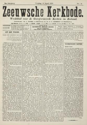 Zeeuwsche kerkbode, weekblad gewijd aan de belangen der gereformeerde kerken/ Zeeuwsch kerkblad 1918-04-12
