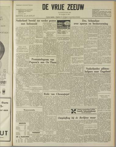 de Vrije Zeeuw 1962-05-28