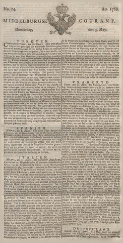 Middelburgsche Courant 1768-05-05