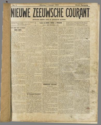Nieuwe Zeeuwsche Courant 1907