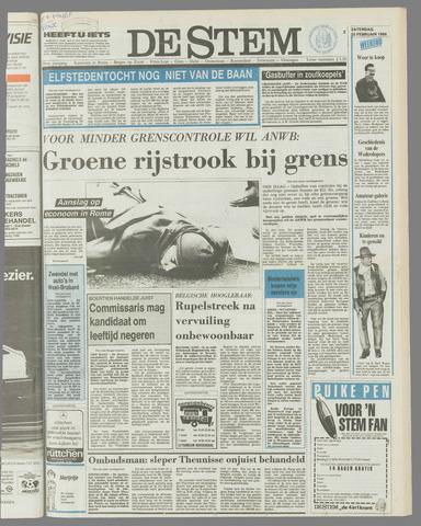 de Stem 1986-02-22
