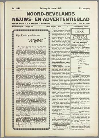 Noord-Bevelands Nieuws- en advertentieblad 1948-01-10