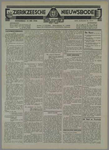 Zierikzeesche Nieuwsbode 1936-05-14