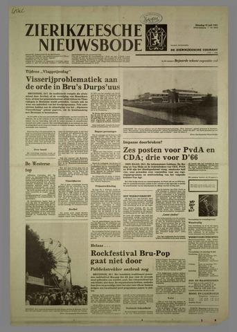 Zierikzeesche Nieuwsbode 1981-07-21