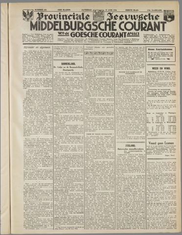 Middelburgsche Courant 1936-06-27