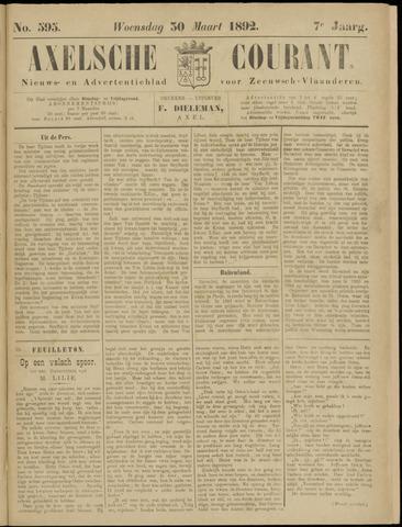 Axelsche Courant 1892-03-30