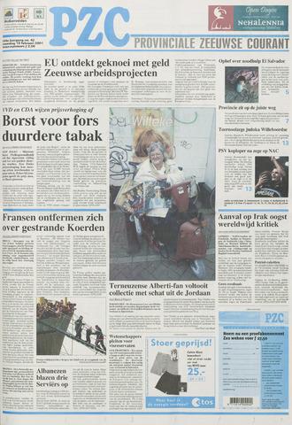 Provinciale Zeeuwse Courant 2001-02-19