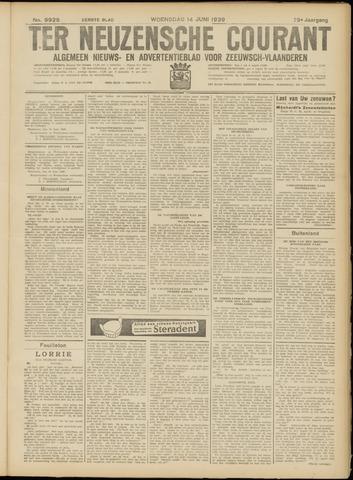 Ter Neuzensche Courant. Algemeen Nieuws- en Advertentieblad voor Zeeuwsch-Vlaanderen / Neuzensche Courant ... (idem) / (Algemeen) nieuws en advertentieblad voor Zeeuwsch-Vlaanderen 1939-06-14