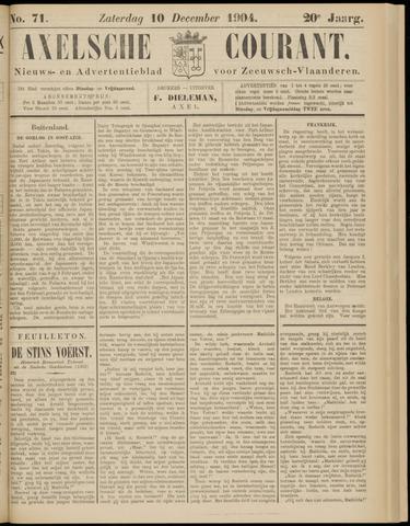 Axelsche Courant 1904-12-10