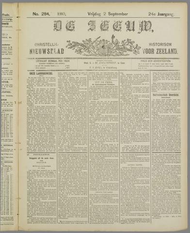 De Zeeuw. Christelijk-historisch nieuwsblad voor Zeeland 1910-09-02