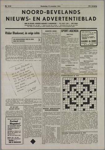 Noord-Bevelands Nieuws- en advertentieblad 1984-11-15