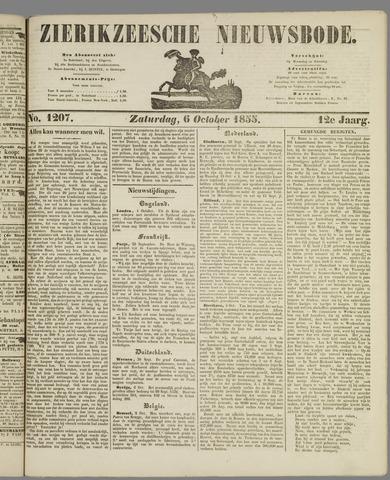 Zierikzeesche Nieuwsbode 1855-10-06