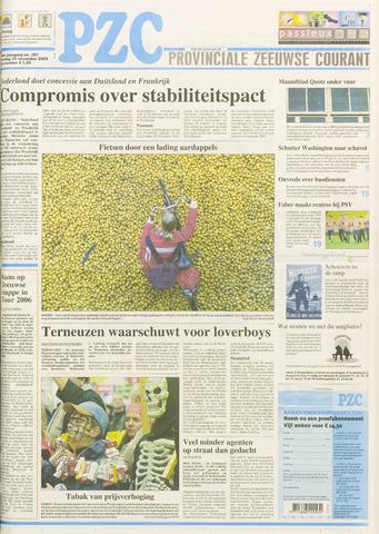 Provinciale Zeeuwse Courant 2003-11-25