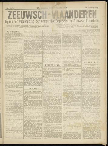 Luctor et Emergo. Antirevolutionair nieuws- en advertentieblad voor Zeeland / Zeeuwsch-Vlaanderen. Orgaan ter verspreiding van de christelijke beginselen in Zeeuwsch-Vlaanderen 1920-11-17