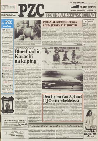 Provinciale Zeeuwse Courant 1986-09-06
