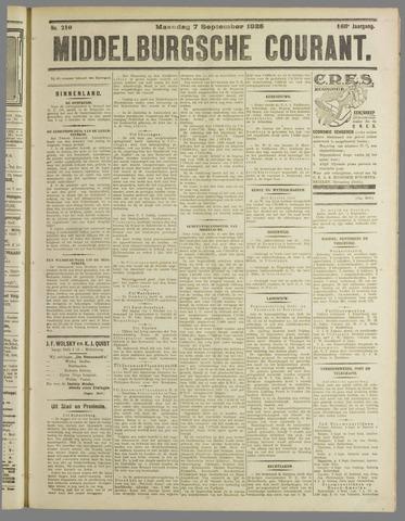 Middelburgsche Courant 1925-09-07
