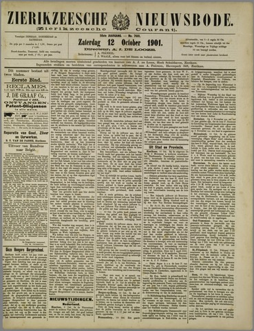 Zierikzeesche Nieuwsbode 1901-10-12