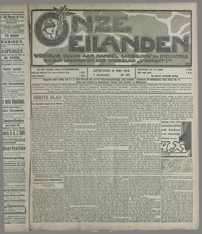 Onze Eilanden 1919-05-31