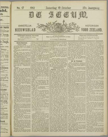 De Zeeuw. Christelijk-historisch nieuwsblad voor Zeeland 1912-10-19