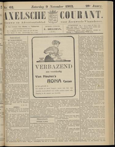 Axelsche Courant 1912-11-09