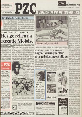 Provinciale Zeeuwse Courant 1985-10-19