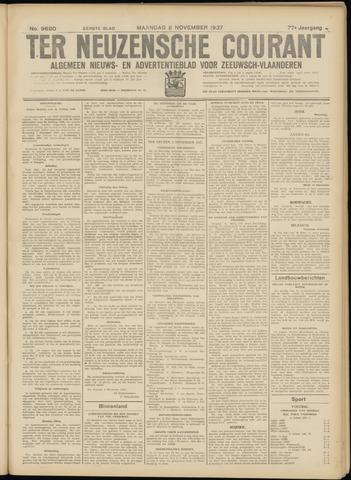 Ter Neuzensche Courant. Algemeen Nieuws- en Advertentieblad voor Zeeuwsch-Vlaanderen / Neuzensche Courant ... (idem) / (Algemeen) nieuws en advertentieblad voor Zeeuwsch-Vlaanderen 1937-11-08