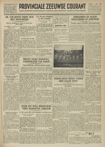 Provinciale Zeeuwse Courant 1949-07-08