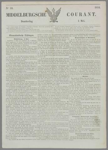 Middelburgsche Courant 1854-05-04