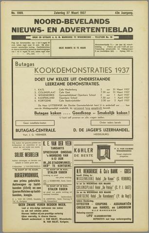 Noord-Bevelands Nieuws- en advertentieblad 1937-03-27