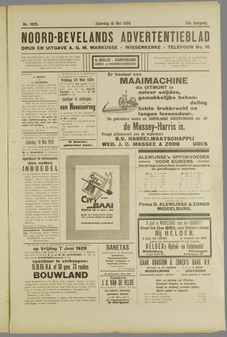 Noord-Bevelands Nieuws- en advertentieblad 1929-05-18
