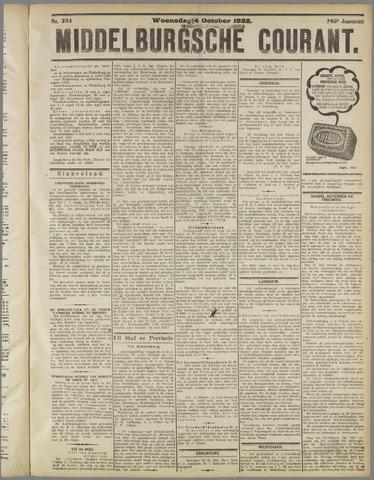 Middelburgsche Courant 1922-10-04