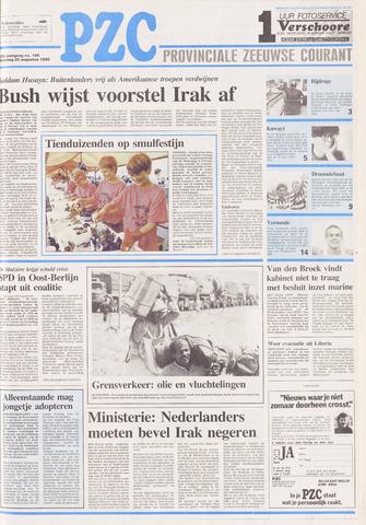 Provinciale Zeeuwse Courant 1990-08-20