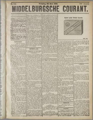 Middelburgsche Courant 1921-05-20