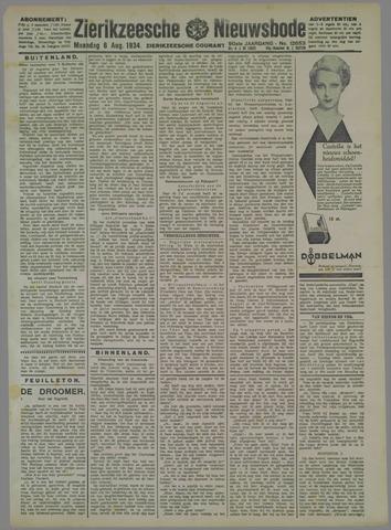 Zierikzeesche Nieuwsbode 1934-08-06