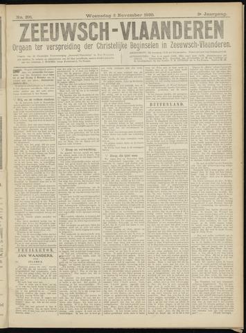 Luctor et Emergo. Antirevolutionair nieuws- en advertentieblad voor Zeeland / Zeeuwsch-Vlaanderen. Orgaan ter verspreiding van de christelijke beginselen in Zeeuwsch-Vlaanderen 1920-11-03