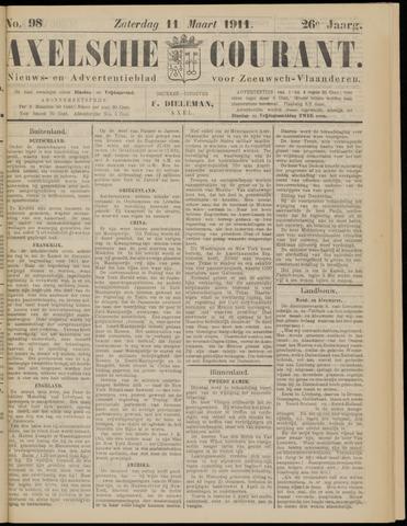 Axelsche Courant 1911-03-11