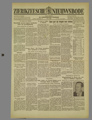 Zierikzeesche Nieuwsbode 1952-09-02