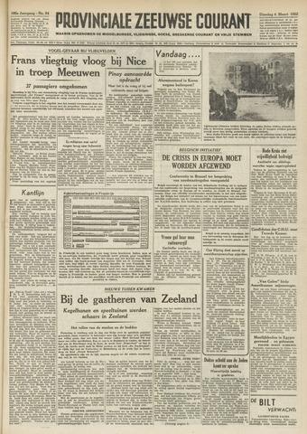 Provinciale Zeeuwse Courant 1952-03-04