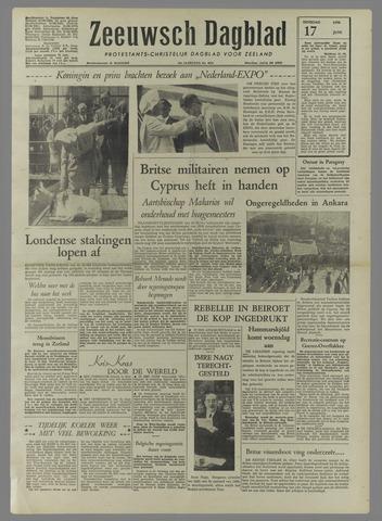 Zeeuwsch Dagblad 1958-06-17
