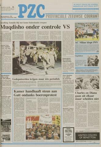 Provinciale Zeeuwse Courant 1992-12-10