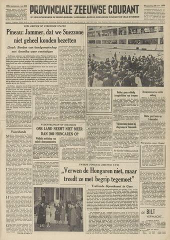 Provinciale Zeeuwse Courant 1956-11-28