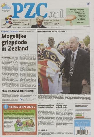 Provinciale Zeeuwse Courant 2009-10-27