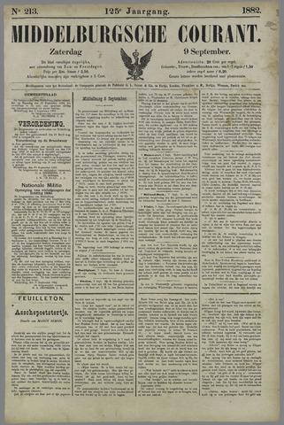 Middelburgsche Courant 1882-09-09