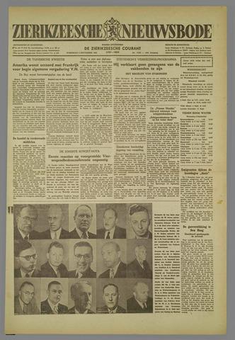 Zierikzeesche Nieuwsbode 1952-09-03