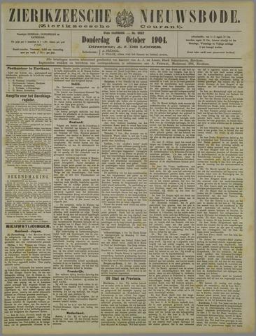 Zierikzeesche Nieuwsbode 1904-10-06