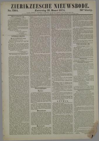Zierikzeesche Nieuwsbode 1874-03-21