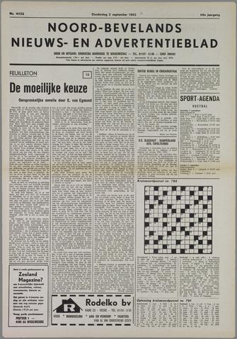 Noord-Bevelands Nieuws- en advertentieblad 1982-09-02