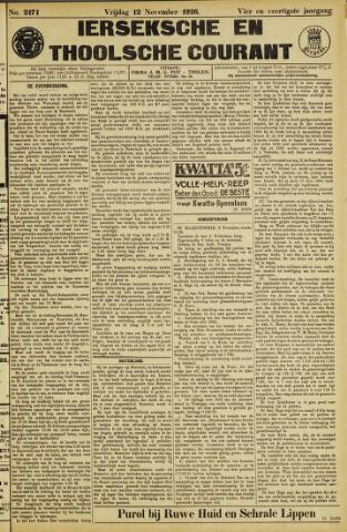 Ierseksche en Thoolsche Courant 1926-11-12