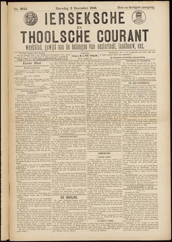 Ierseksche en Thoolsche Courant 1916-12-02