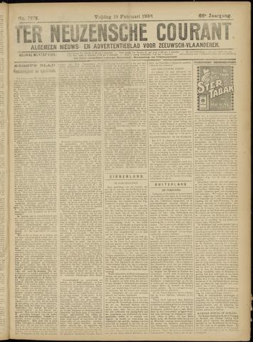 Ter Neuzensche Courant. Algemeen Nieuws- en Advertentieblad voor Zeeuwsch-Vlaanderen / Neuzensche Courant ... (idem) / (Algemeen) nieuws en advertentieblad voor Zeeuwsch-Vlaanderen 1926-02-19